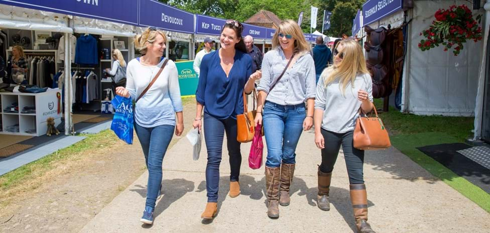 Trade Stands Hickstead : Shopping at hickstead